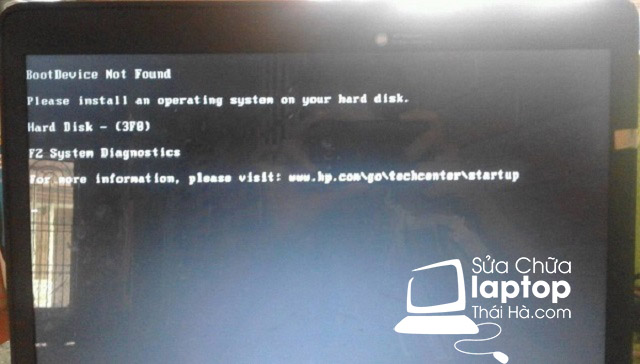 """Khắc phục laptop bị lỗi """"boot device not found"""" tại địa chỉ uy tín"""