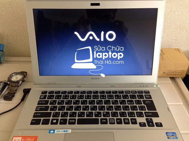 Khởi động lại Laptop khi hoàn thành cài đặt