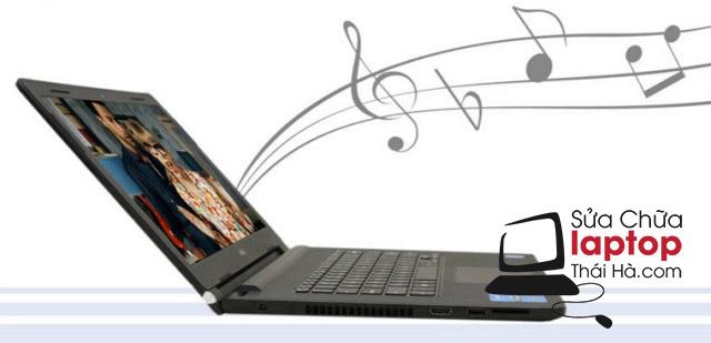 Loa laptop Asus bình thường sẽ phát ra âm thanh