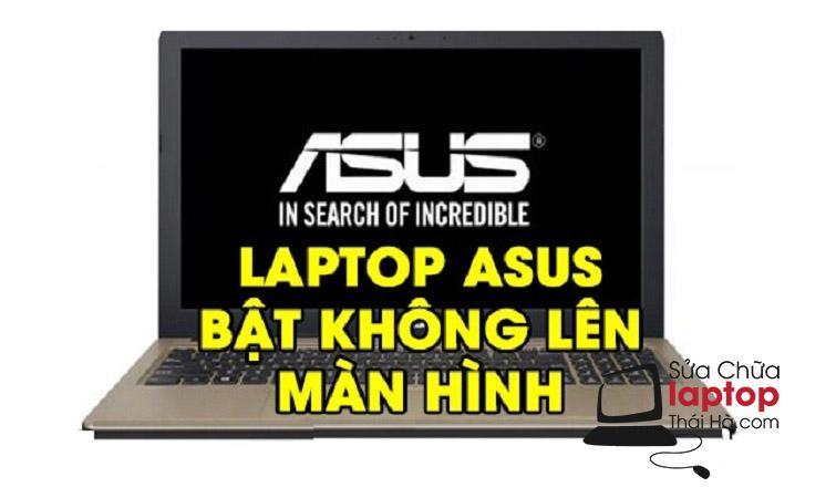 Laptop mở nguồn nhưng màn hình không lên