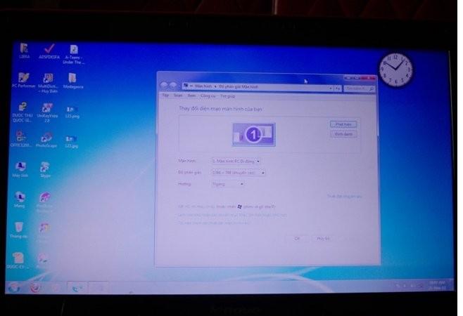 Lỗi màn hình laptop bị nhòe hình và mờ hình
